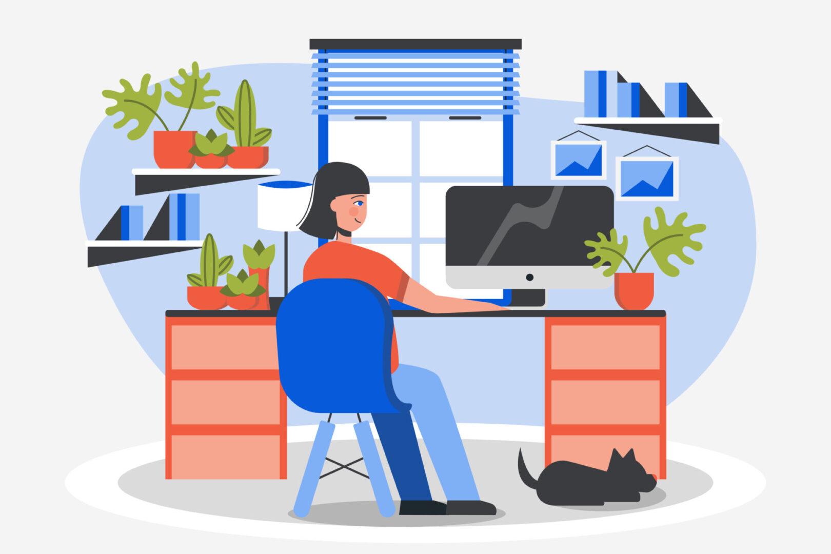 4 ideias criativas para a decoração do seu home office Riva Incorporadora