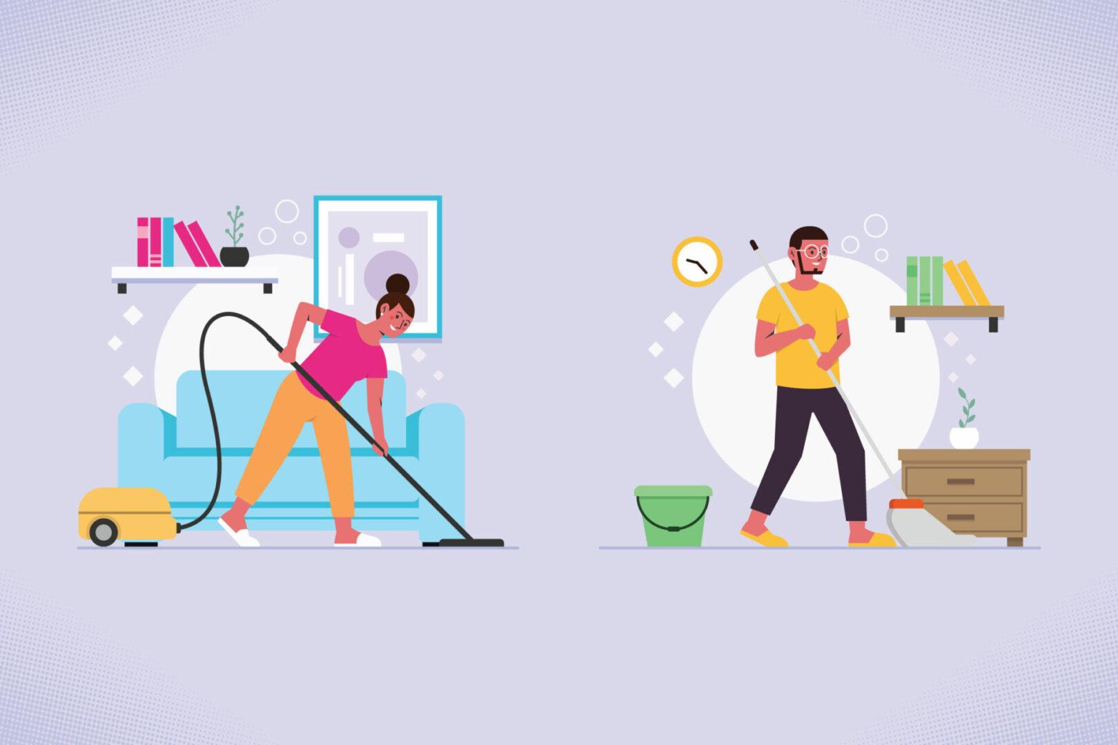 Limpeza da casa: como organizar uma rotina? Riva Incorporadora